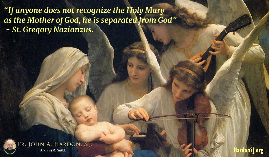 Our God, Jesus Christ, was carried in Mary's womb