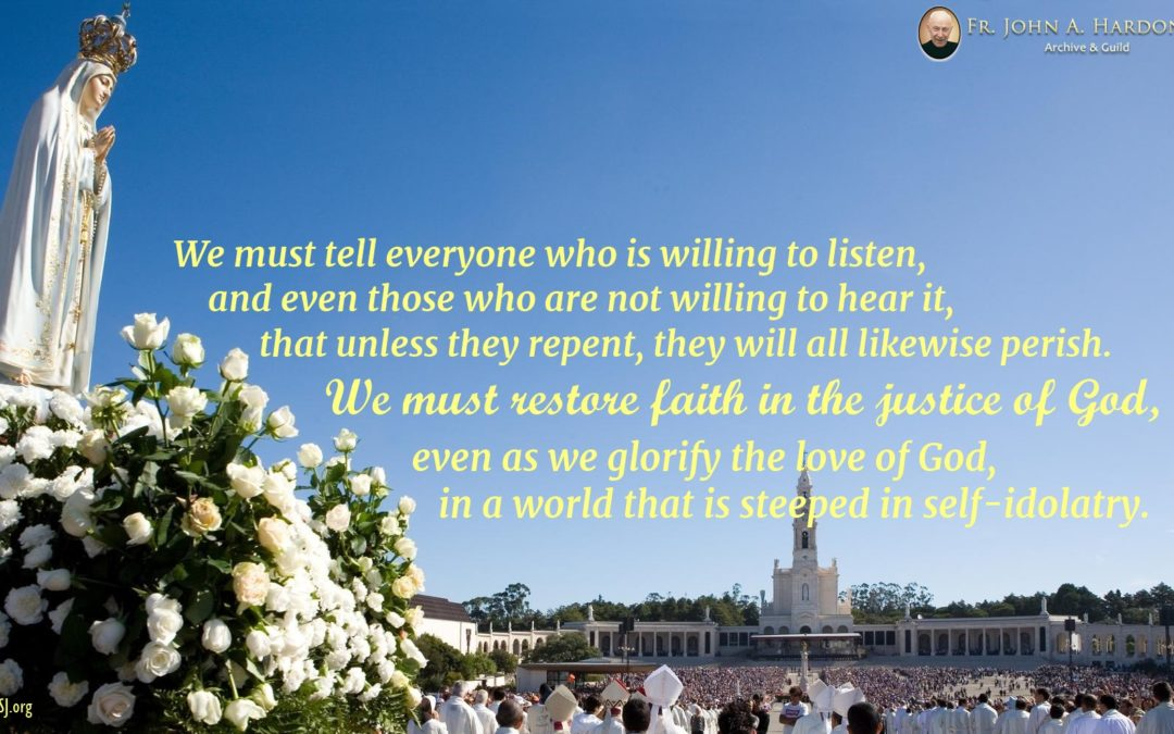 The heart of the Fatima message