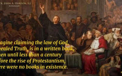 There was no Protestant Reformation. There was a Protestant revolution